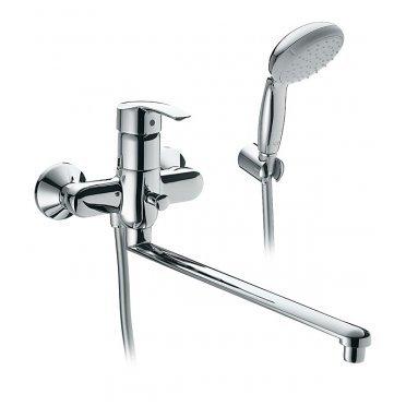 Смеситель для ванной и душа GROHE MULTIFORM 3270800A с длинным изливом однорычажный с лейкой