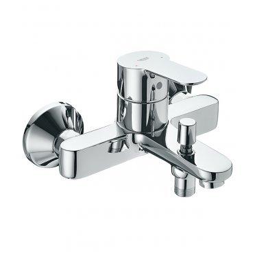 Смеситель для ванны и душа GROHE BauEdge 23334000 с коротким изливом однорычажный без лейки
