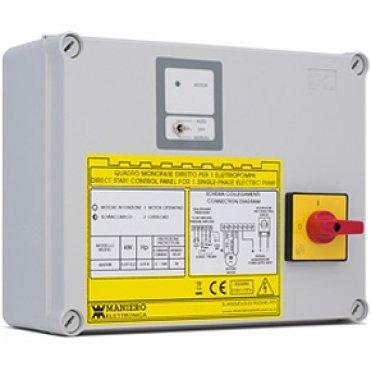 QA/60C- пульт упр.для 3-х фазн. насосов (0,55 - 3.