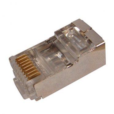 Штекер компьютерный Proconnect (05-1023-9) RJ-45 8Р8С CAT5e белый (5 шт.)
