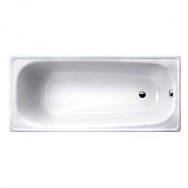 Ванна стальная WHITE WAVE Optimo 150х70 см толщина 2,30 мм с ножками