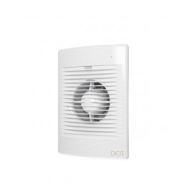 Вентилятор осевой DiCiTi Standard обратный клапан 180х250 мм d100 мм белый