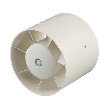Вентилятор канальный осевой Cata MT-125 d120 мм слоновая кость