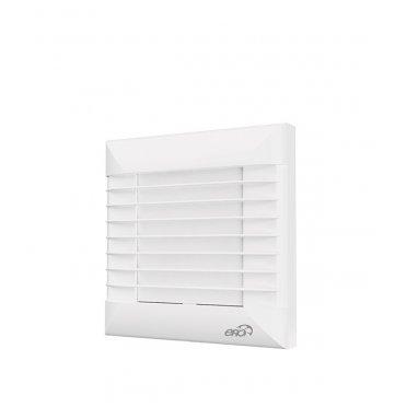 Вентилятор осевой ERA EURO автоматические жалюзи 160х160 мм d100 мм белый
