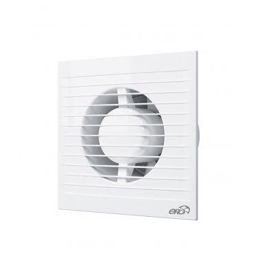 Вентилятор осевой ERA Е антимоскитная сетка 160х160 мм d100 мм белый
