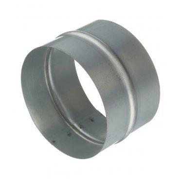 Соединитель для круглых воздуховодов d125 мм оцинкованный