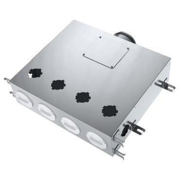 Коллектор вентиляции для круглых воздуховодов BlauFast SR 125/75х6 01 с фланцем d67 мм металлический