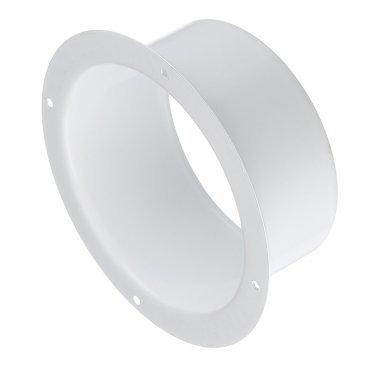 Фланец для круглых воздуховодов d100 мм стальной Вентс белый