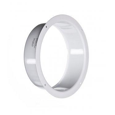 Фланец для круглых воздуховодов d150 мм стальной Вентс белый