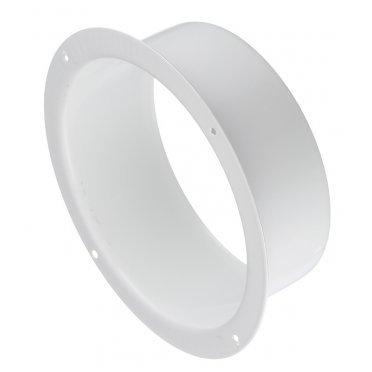 Фланец для круглых воздуховодов d125 мм стальной Вентс белый