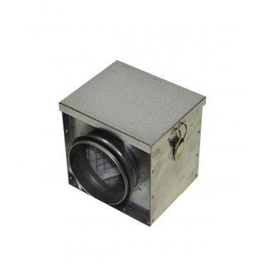 Фильтр для круглых воздуховодов d160 мм оцинкованный ORE