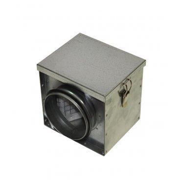Фильтр для круглых воздуховодов d200 мм оцинкованный ORE