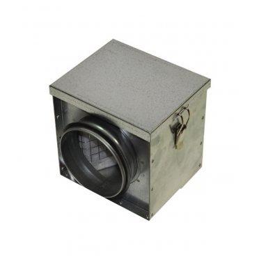Фильтр для круглых воздуховодов d125 мм оцинкованный ORE