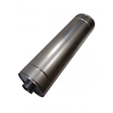 Шумоглушитель круглый оцинкованный ORE d125 мм 600 мм