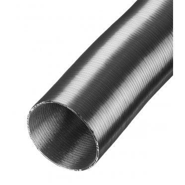 Воздуховод гибкий гофрированный Вентс Алювент Стандарт алюминиевый d100 мм 3 м