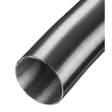 Воздуховод гибкий гофрированный Вентс Алювент Стандарт алюминиевый d125 мм 3 м