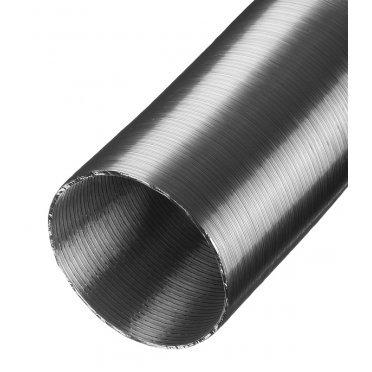 Воздуховод гибкий гофрированный Вентс Алювент Стандарт алюминиевый d150 мм 3 м