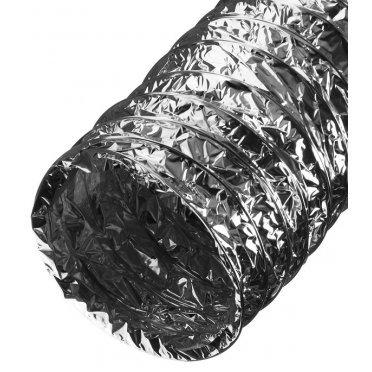 Воздуховод гибкий гофрированный армированный ERA полимерный d152 мм 10 м