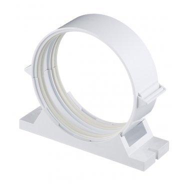 Держатель для круглых воздуховодов ERA пластиковый d100 мм