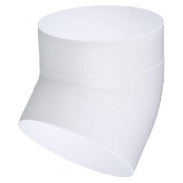 Колено для круглых воздуховодов ERA пластиковое d125 мм 45°