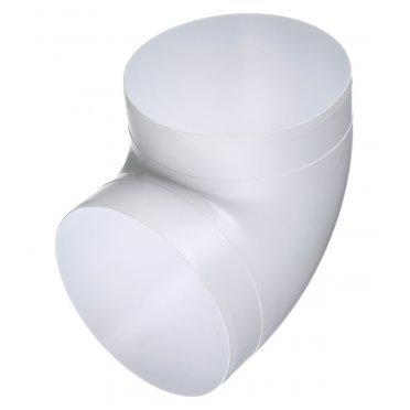 Колено для круглых воздуховодов ERA пластиковое d160 мм 90°
