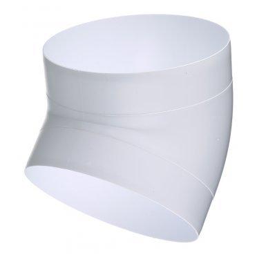Колено для круглых воздуховодов ERA пластиковое d160 мм 45°
