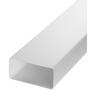 Воздуховод плоский пластиковый 60х120 мм 1 м