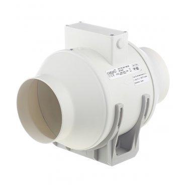 Вентилятор канальный центробежный Cata Duct In Line d100 мм слоновая кость