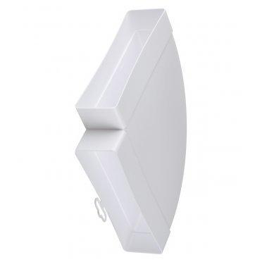 Колено горизонтальное пластиковое для плоских воздуховодов 60х204 мм 90°