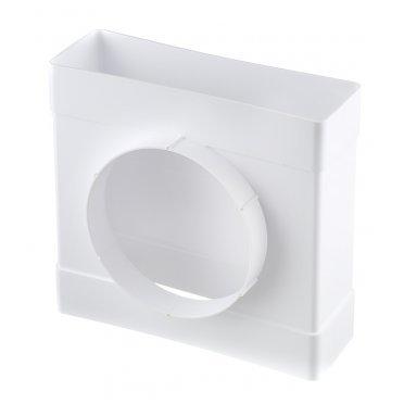 Соединитель т-образный пластиковый для плоских воздуховодов 60х204 мм