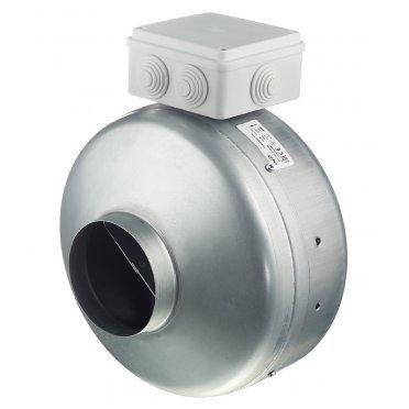 Вентилятор канальный центробежный DiCiTi TORNADO EBM 100 d100 мм серебро
