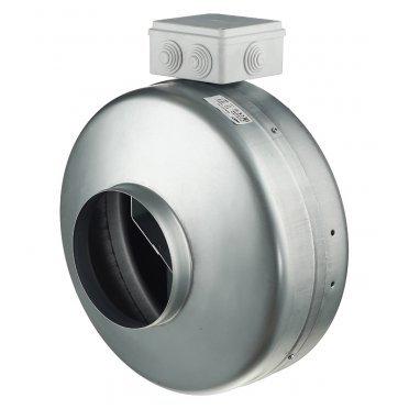 Вентилятор канальный центробежный ERA Tornado d150 мм серебро