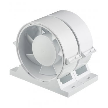 Вентилятор канальный осевой DiCiTi PRO d100 мм белый