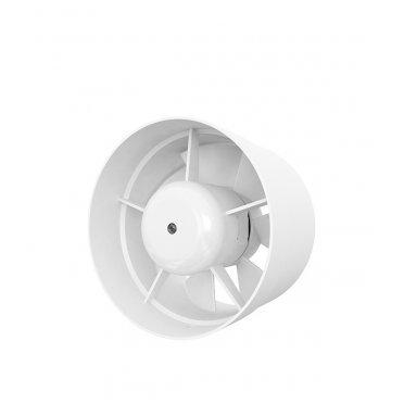 Вентилятор канальный осевой AURAMAX VP d125 мм белый
