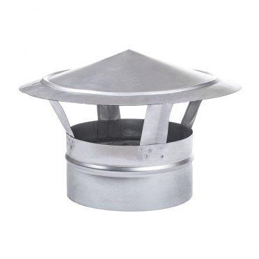 Зонт крышный оцинкованный d250 мм