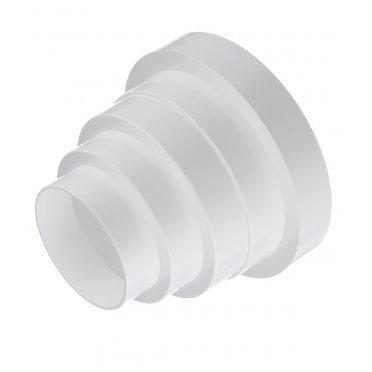 Соединитель для круглых воздуховодов Вентс пластиковый d80/100/120/125/150 мм