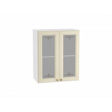 Кухонный шкаф верхний с 2-мя остекленными дверцами Версаль