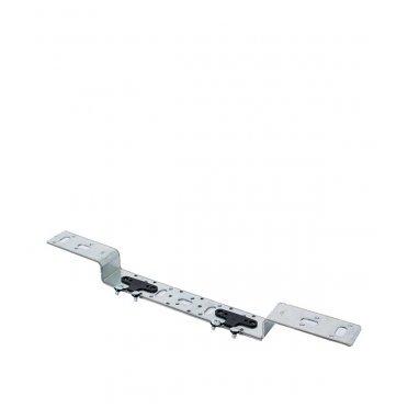 Планка рельеф компактная Rehau для пары водорозеток 75/150 с амортизаторами
