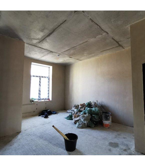 Штукатурка стен после