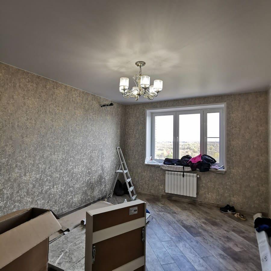 Косметический ремонт квартиры 80 м2