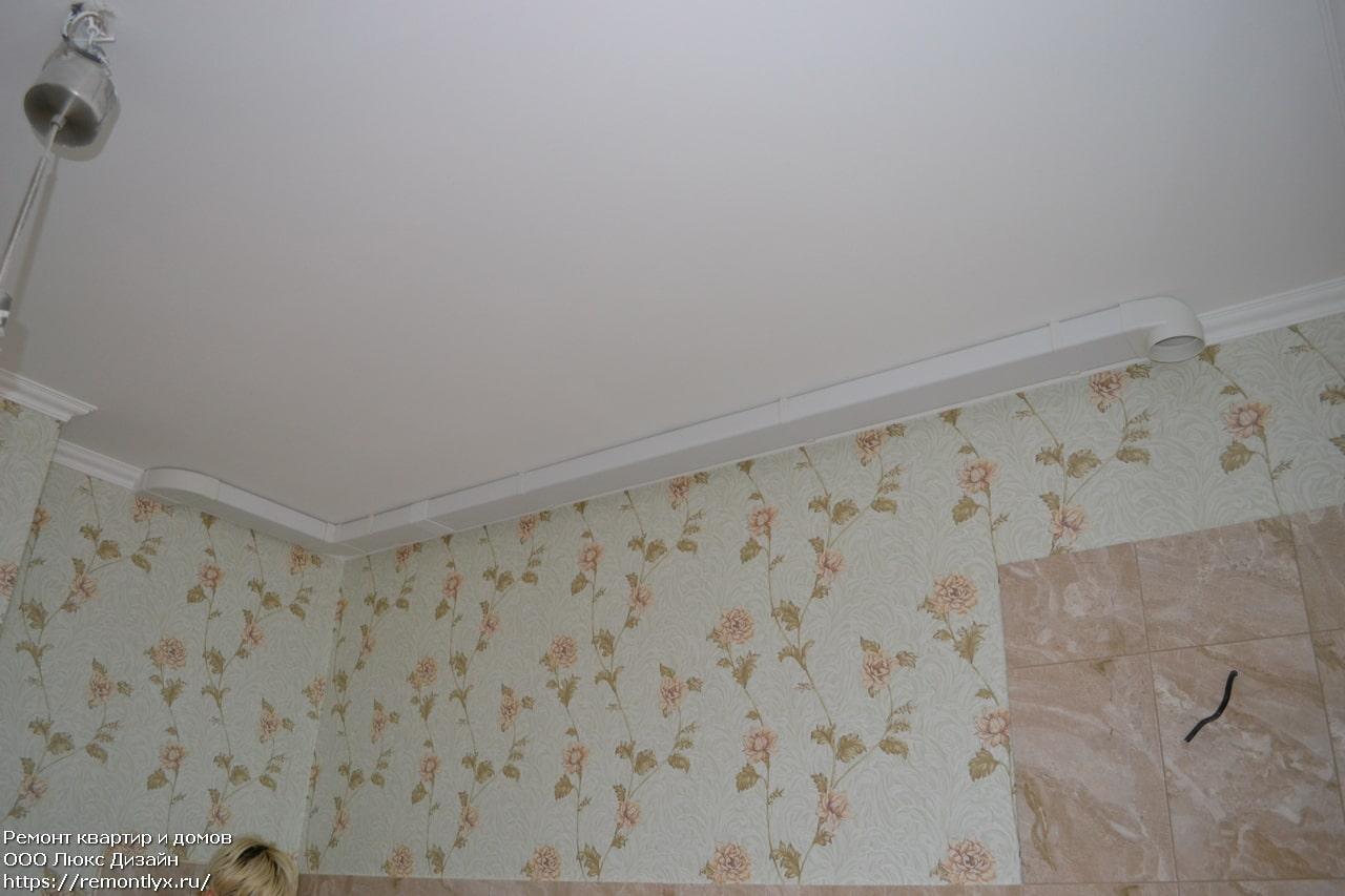 Монтаж вентиляции в квартире после