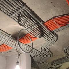 Электромонтажные работы в доме 150 м2