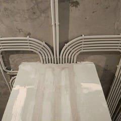 Электромонтажные работы в доме 160 м2