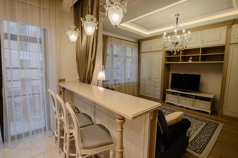 Дизайн и ремонт квартиры класса бизнес под ключ 50.5 м2