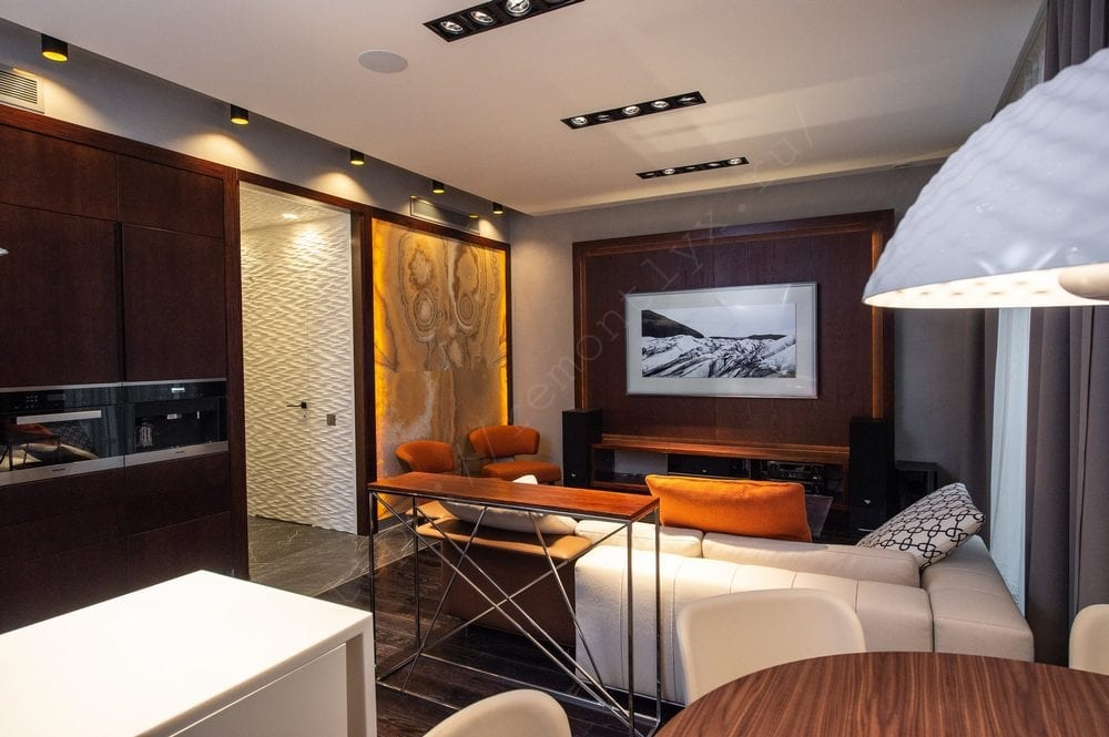 Капитальный ремонт двухкомнатной квартиры 76 м2