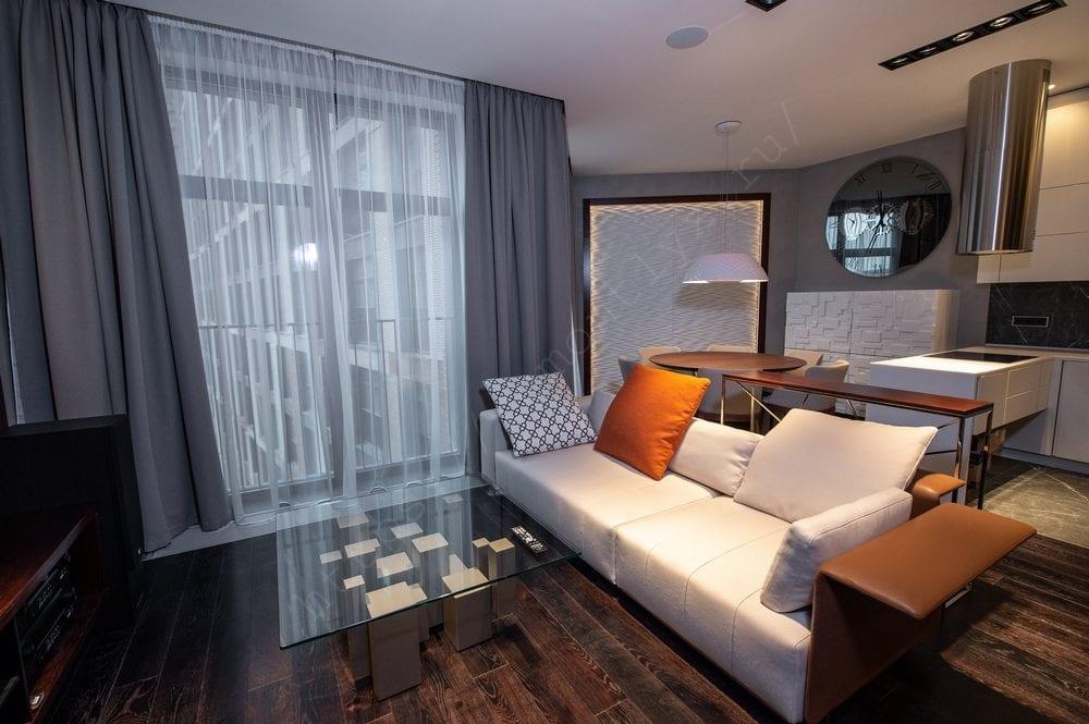 Евроремонт трехкомнатной квартиры 94,43 м2
