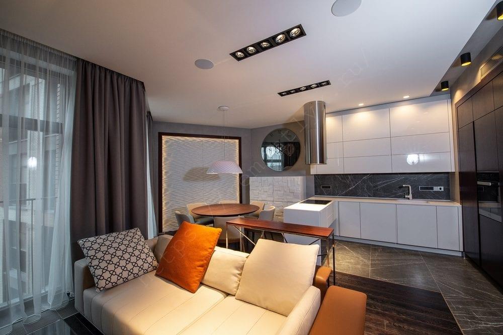 Ремонт трехкомнатной квартиры в новостройке 94.43 кв м