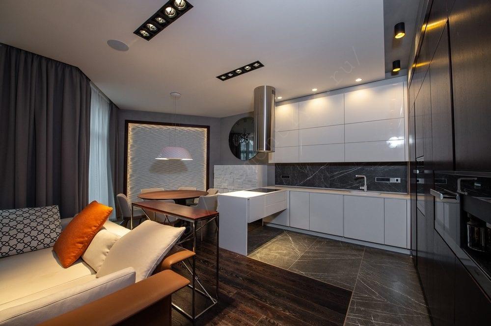 Капитальный ремонт однокомнатной квартиры 38 м2