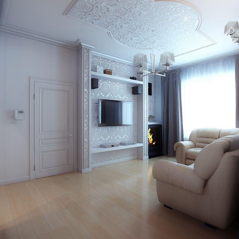 Дизайн интерьера и ремонт дома 180 м2