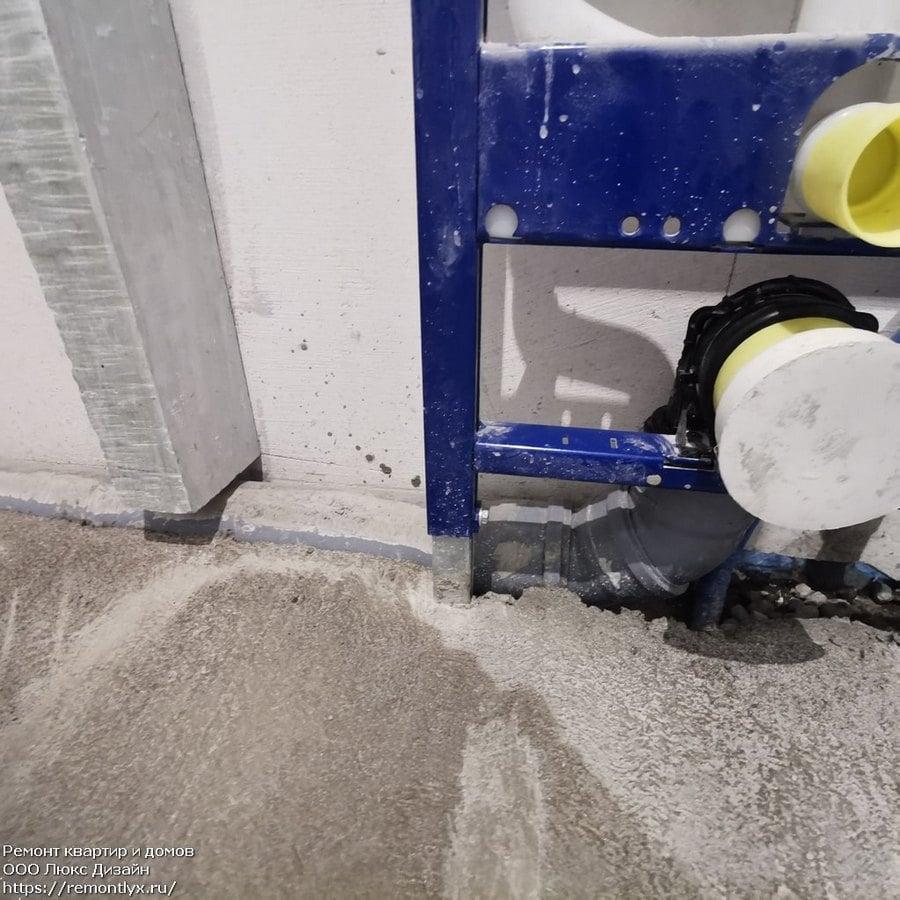 5 этап чернового ремонта квартиры стяжка